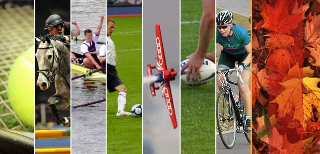 Major sporting events in London during 2016