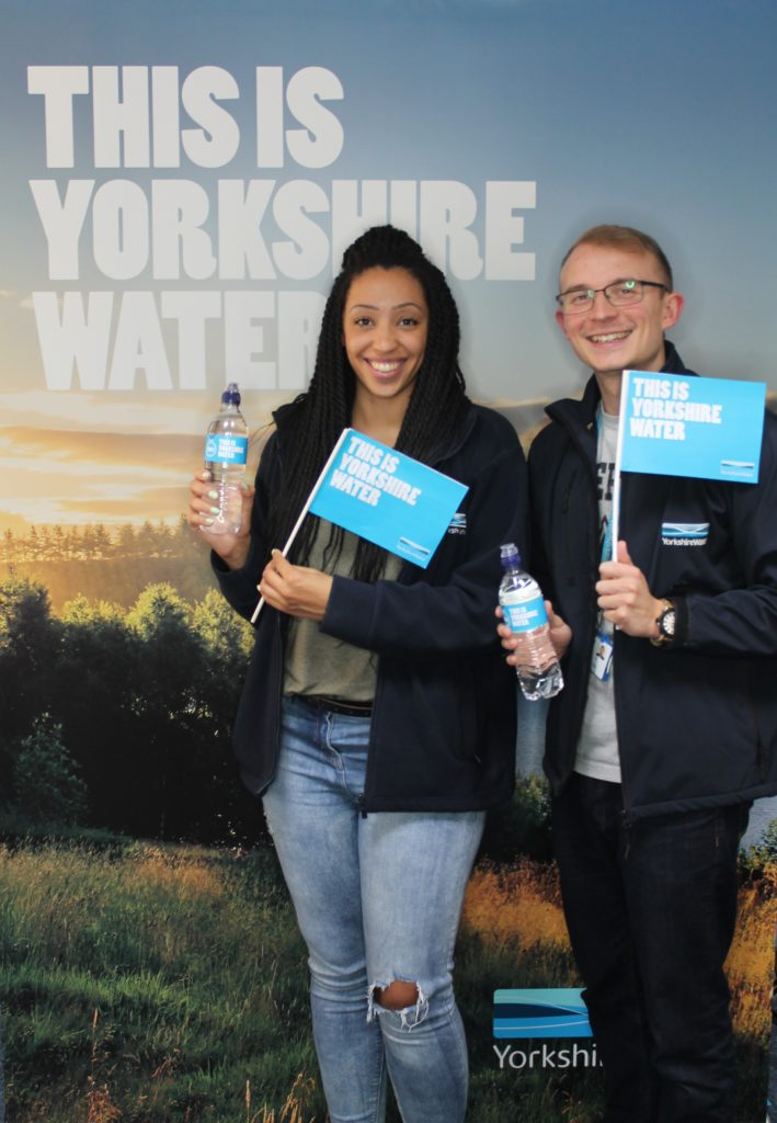 Olympic Victory Parade Features Yorkshire Water Handing out 'Drink of Champions'