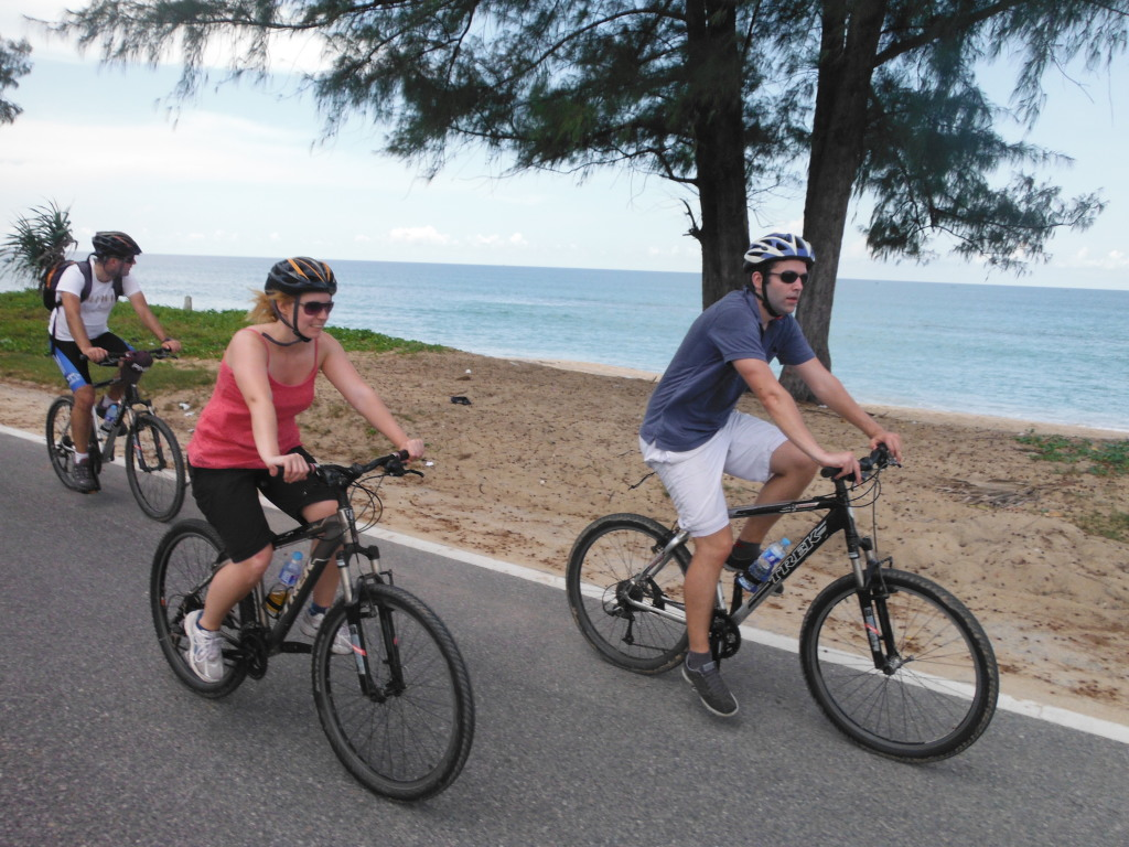 Cycling in Phuket