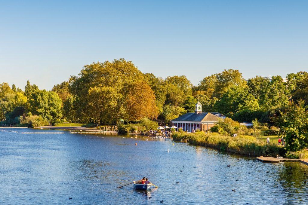 Famous Park in London